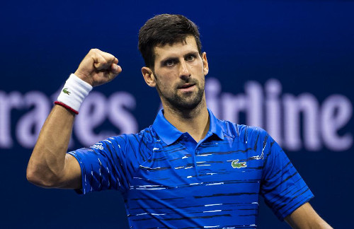 <i>Novak Djokovic at the US Open. Image credit: Getty Images</i>